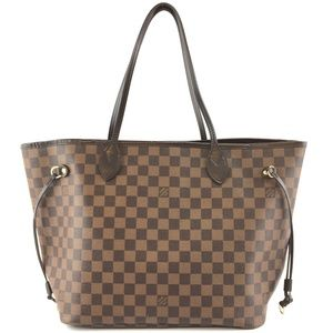 Neverfull Damier Ébène Canvas Shoulder Bag